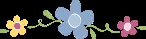 separador flores