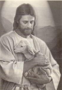jesus y el cordero