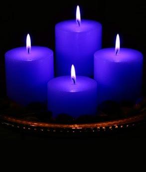 velas azul klein