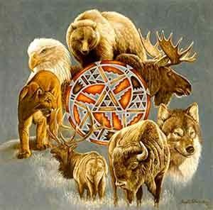 Animales de poder codigos sagrados