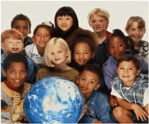 paz del mundo niños