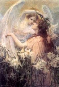 angel de nacimiento a la vida eterna
