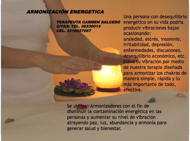 armonización energetica Carmen Salcedo