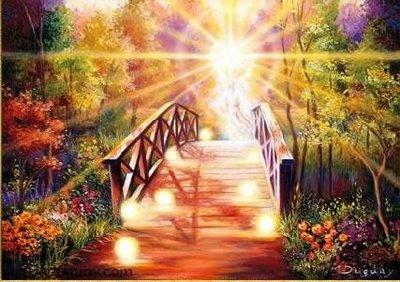camino para comenzar en la luz_