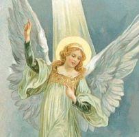 angel guia al cielo