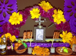 altar de muertos Mayor Enrique Julio Flores López