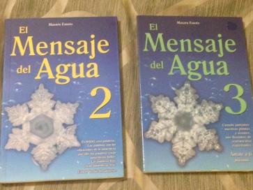 libro mensajes del agua 2 y3