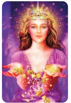 Angel de la abundancia; Prosperidad; Provision Divina; Metafisica Miami