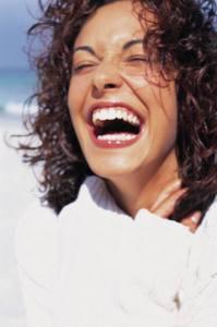 mujer risa reir amiga