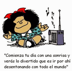 queja mafalda radio musica niña