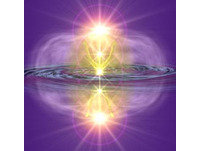 gota agua angel luz