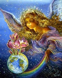 angel luz mundo abundancia