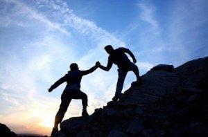 escalando-una-montaña