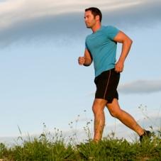 hombre jogging correr