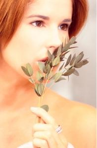 aroma mujer plantas