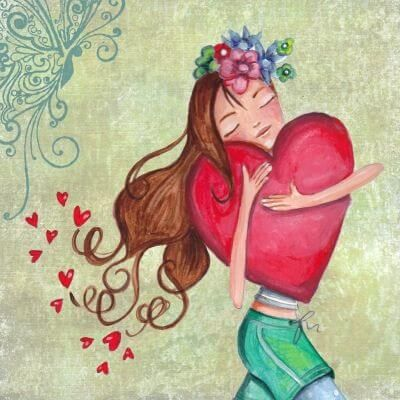 ser feliz corazon