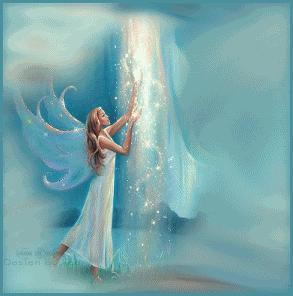 angel hada luz de luna