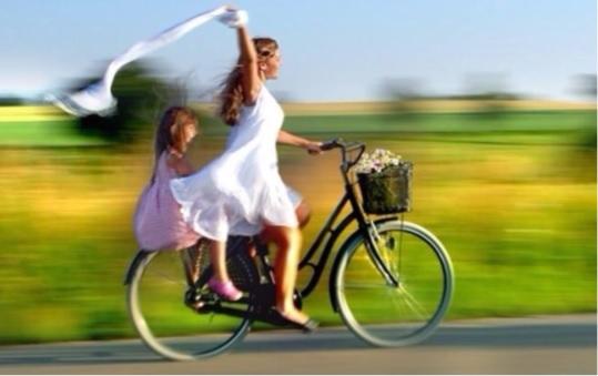 bicicleta-mujer-nina