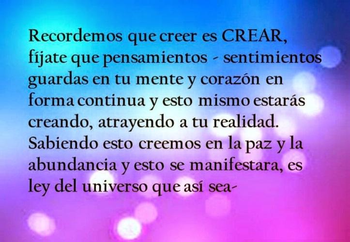 creer es crear