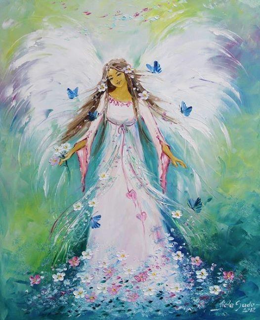 angel mariposas abundancia